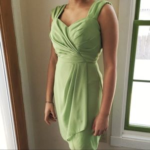 After Six Dresses - After Six Cocktail Dress, Appleslice Green, size 0